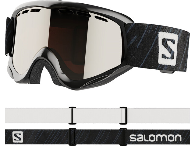 Salomon Juke Brille Kinder black/silver